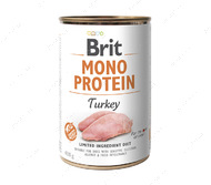 Влажный корм для собак - 100% МЯСО ИНДЕЙКИ BRIT MONO PROTEIN – TURKEY