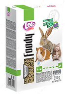 Гранулированная люцерна для грызунов и кролика Lolo Pets GRANULATED of LUCERNE for rodents