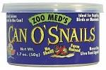 Корм Zoo Med Can O' Snails (улитки)