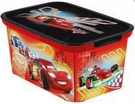 "Коробка для детских игрушек ""AMSTERDAM - машинки"", размер S"