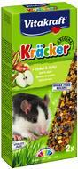 Крекер для крыс Vitakraft со злаками и фруктами
