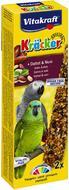 Крекер для больших попугаев c фруктами и орехами