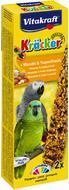 Крекер для больших попугаев c медом и тропическими фруктами