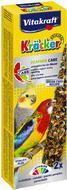 Крекер для больших попугаев, ары в период линьки