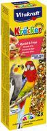 Крекер для больших попугаев c фруктами