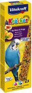 Крекер для волнистых попугаев с фруктами