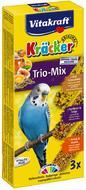 Крекер для волнистых попугаев с медом, фруктами и яйцом