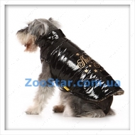 Курточка - шубка двухсторонняя черная, размер 2
