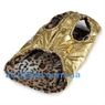 Курточка - шубка двухсторонняя золотая
