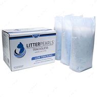 ТРАКЛЕС кварцевый наполнитель для туалетов котов Litter Pearls TrackLess