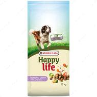 Cухой корм для пожилых собак с проблемами лишнего веса Happy Life Senior Light with Chicken