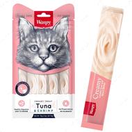 Лакомства для котов паста в стиках - тунец с креветками Wanpy Creamy Lickable Treats Tuna & Shrimp