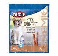 Лакомство для кошек палочки домашняя птица-печень PREMIO Quadro-Sticks