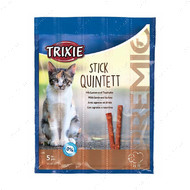 Лакомство для кошек палочки лосось-форель PREMIO Quadro-Sticks