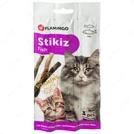 Лакомство палочка для кошек и котят со вкусом рыбы Stikiz Fish