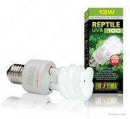 Компактная люминесцентная лампа для облучения лучами УФ-В спектра 13 W REPTI GLO 5.0 UVB 100
