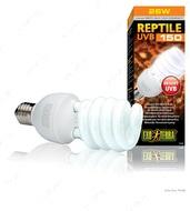 Компактная люминесцентная лампа для облучения лучами УФ-В Exo Terra Reptile GLO 10.0 UVB 150, 26W