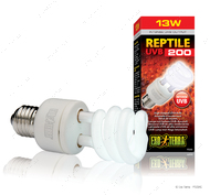 Компактная люминесцентная лампа для облучения лучами УФ-В спектра Reptile UVB 200 13 W