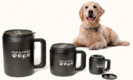 Лапомойка Medium, для собак до 30 кг черная