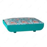 Лежак для котов сине-зеленый KITTY KASA PENTHAUS