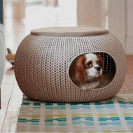 Домик для собак и котов Curver Knit Cozy