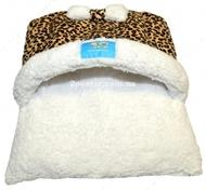 """Лежанка для животных """"Конверт Леопард"""" 35 х 40 см"""