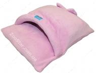 """Лежанка для голых и короткошестных животных """"Конверт Розовый"""" с жестким входом,  60 х 70 см"""