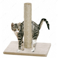 """LISA BEIGE"" Лиза столбик драпак когтеточка для кошек"
