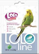 Кормовая добавка густые перья для волнистых попугаев Lolo Pets LoloLine Thick Feathers