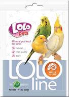 LOLOLINE ракушки+кальций для птиц 50 г
