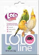 Кормовая добавка для волнистых попугаев уголь Lolo Pets LoloLine Charcoal