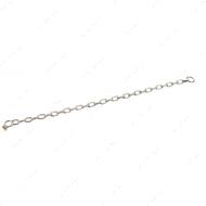Long Link среднее звено ошейник для собак, 3 мм, нержавеющая сталь