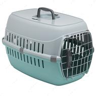Переноска для собак и котов, металлическая дверца с замком акварель Moderna Road Runner 2