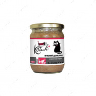 Консервы для котов, c мясом и овощами Мясной деликатес