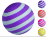 Мячик фосфоресцирующий