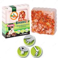 """KNIBBLES CARROT CUBES"" Мел с морковью для гигиены зубов для грызунов"