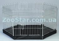 Металлический манеж - вольер с дверью для щенков и собак