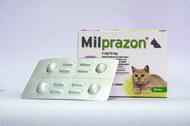 Милпразон - антигельминтные таблетки для котов до 2 кг KRKA Milprazon