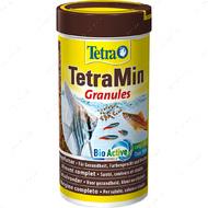 Основной корм в виде гранул для декоративных рыб Min Granules