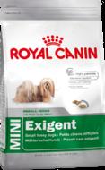 Сухой корм для привередливых собак миниатюрных и мелких пород старше 10 месяцев Mini Exigent