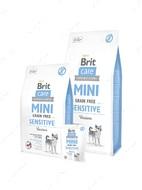 Сухой корм для собак миниатюрных пород с чувствительным пищеварением с олениной Mini Grain Free Sensitive
