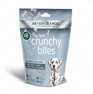 Хрустящие лакомства для собак с океанической белой рыбой и картофелем Crunchy Bites Sensitive Dog Treats