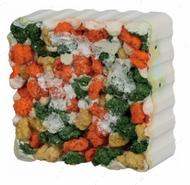 Минерал для грызунов овощи с морскими водорослями Gnawing Stone with Algae and Croquettes