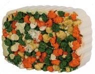 Минерал для кроликов, морских свинок, шиншилл, с овощами Gnawing Stone with Algae and Croquettes