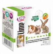 Минеральный камень для грызунов - апельсин  LoLo Pets