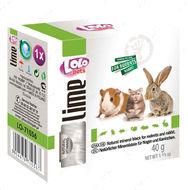 Минеральный камень для грызунов-кальций LoLo Pets