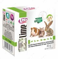 Минеральный камень для грызунов-попкорн Lolo pets