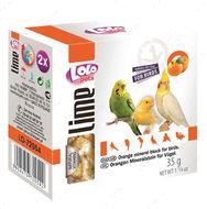 Минеральный камень для птиц-апельсин LoLo Pets lime for BIRD