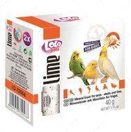 Минеральный камень для птиц с ракушками LoLo Pets lime for BIRD