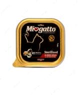 """Консервы для стерилизованных котов с говядиной и овощами """"Miogatto Sterilized Beef and Vegetables"""""""